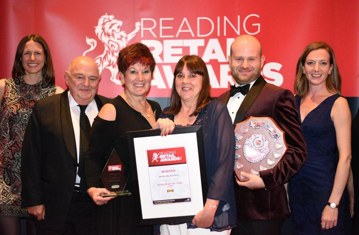 Jacobs win Reading's Retailer of the Year 2018!