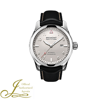 Bremont Solo Polished White Dial Watch