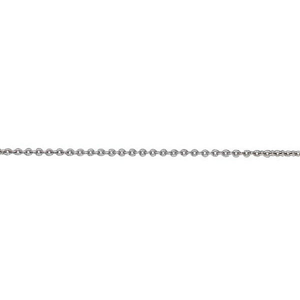 "18ct White Gold 20"" Trace Chain"