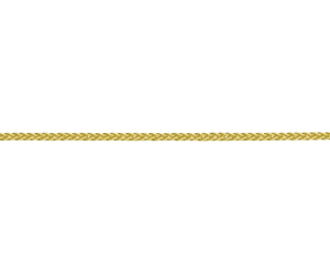 "18ct Yellow Gold 18"" Medium Spiga Link Necklace"