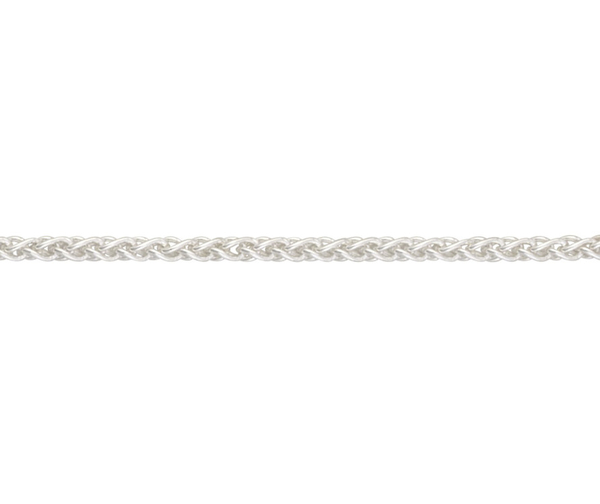 "Sterling Silver 22"" Spiga link necklace"