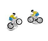 Bike and Rider Cufflinks
