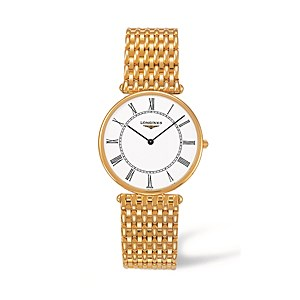 Second Hand Longines 18ct Yellow Gold Agassiz Watch
