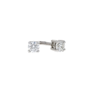 18ct White Gold 0.26ct Diamond Earrings