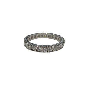 Platinum Full Diamond 1.49ct Eternity Ring