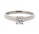 Platinum 0.40ct Diamond Solitaire