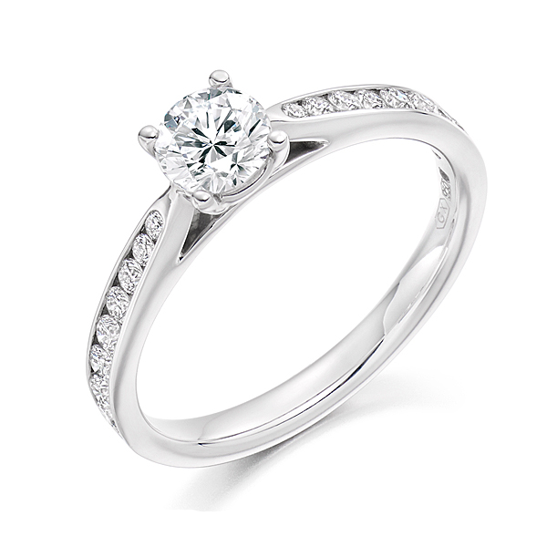 Platinum 1.05ct Solitaire Diamond Ring