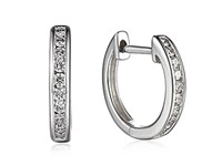 18ct White Gold 0.20ct Diamond Earrings