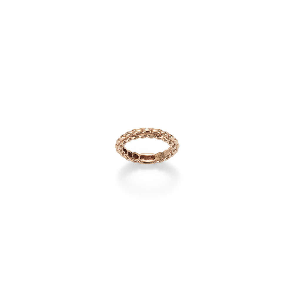 FOPE Eka Tiny 18ct Rose Gold Ring