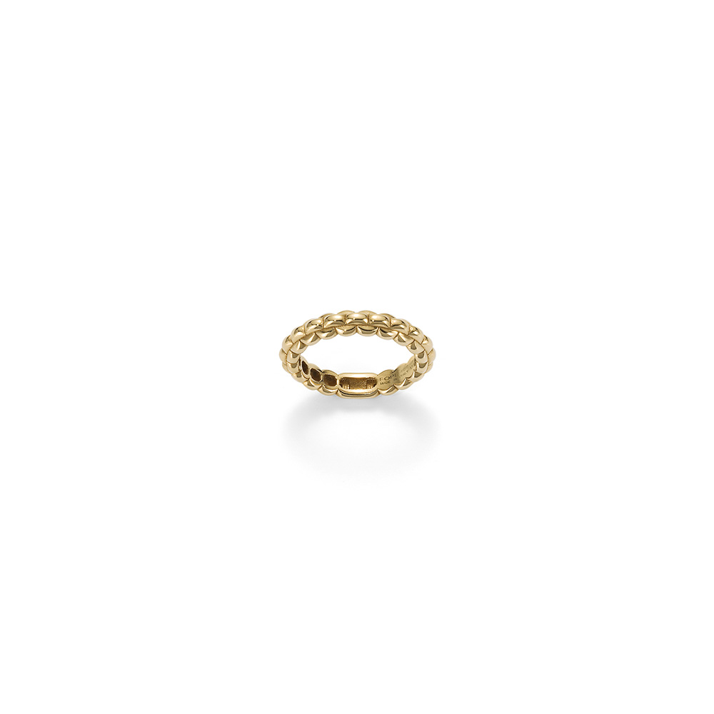 Fope EKA TINY 18ct yellow gold ring size N
