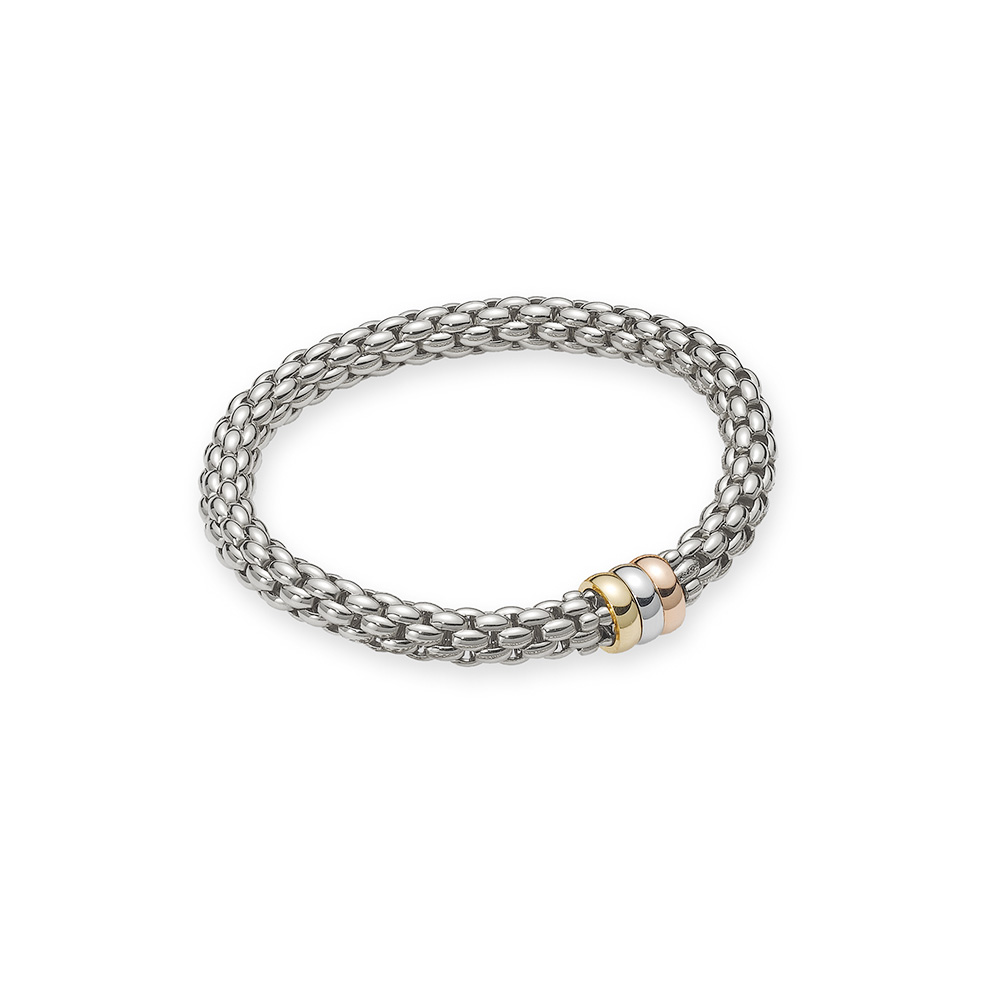 FOPE Flex'it 18ct White Gold Bangle