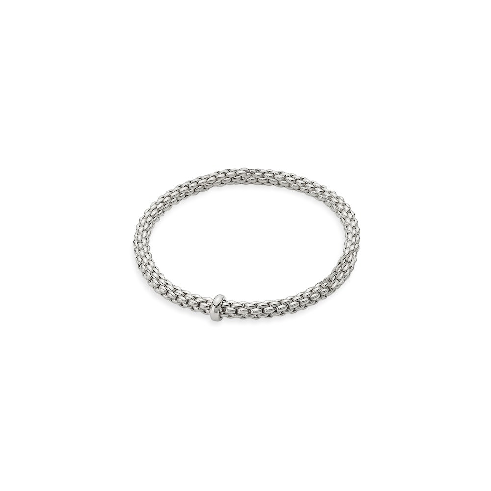 FOPE Flex'it white gold bangle