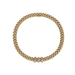 Fope 18ct Yellow Gold Flex'It Bangle