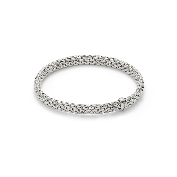 White gold Fope Flex'It Vendome bracelet