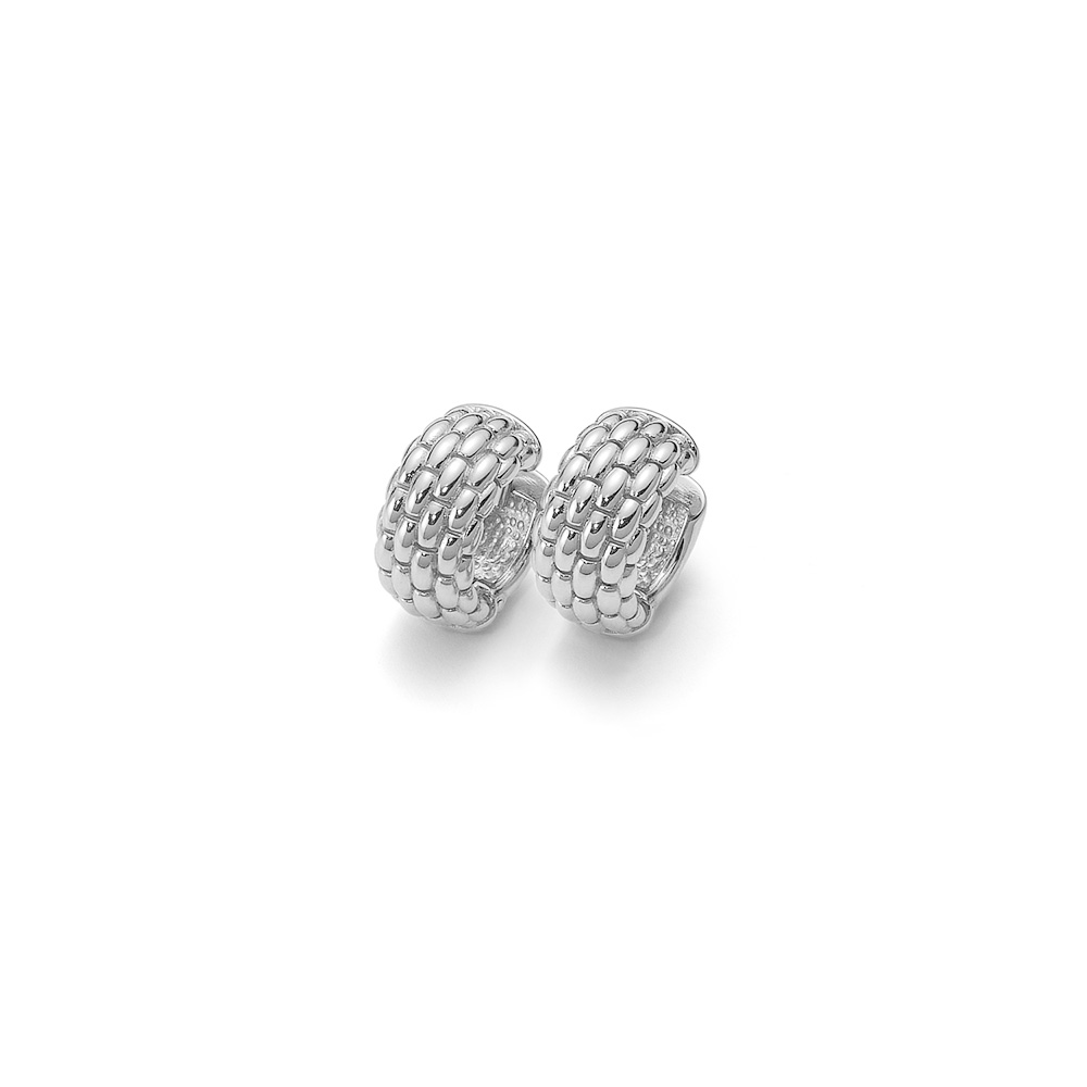 Fope Lux white gold earrings