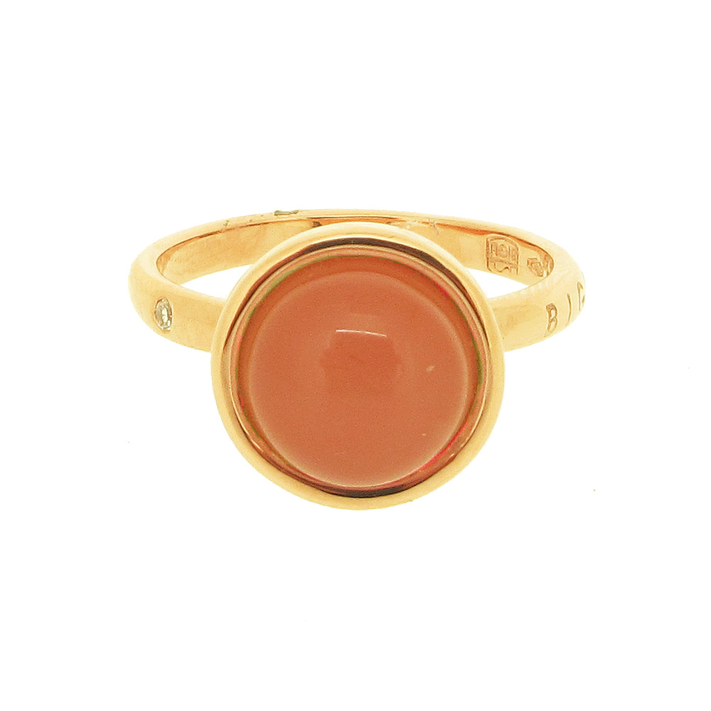 Gianfranco Bigli Coral 'Moments' Ring