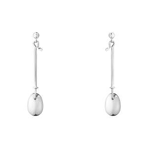 Georg Jensen Dew Drop Silver Earrings