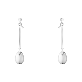 Georg Jensen Sterling Silver Dew drop earrings