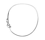 Georg Jensen Forget Me Knot Collar