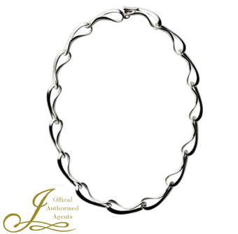 Georg Jensen Infinity Silver Necklace