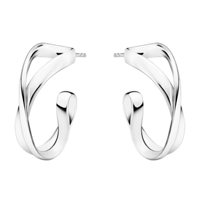 Georg Jensen Infinity Silver Earrings