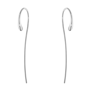 Georg Jensen Silver Mercy Drop Earrings