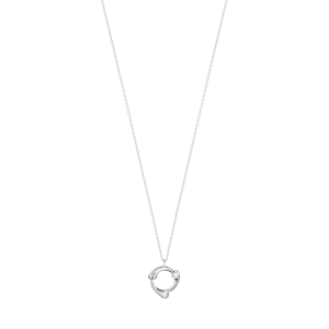 Georg Jensen Magic 18ct White Gold + Diamond Pendant