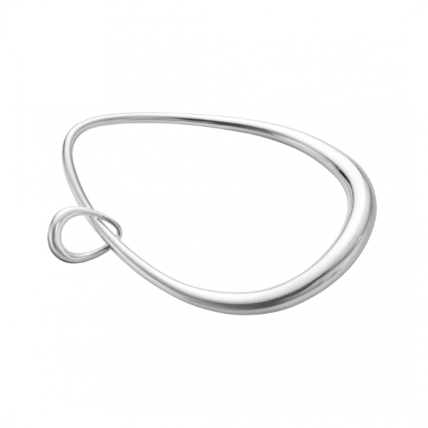 "Georg Jensen Silver ""Offspring"" Bangle"