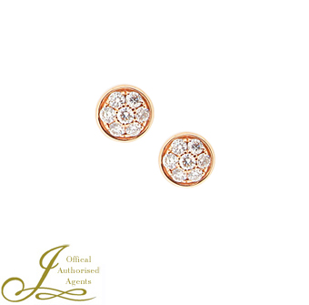 Hulchi Belluni Diamond 'Funghetti' Stud Earrings