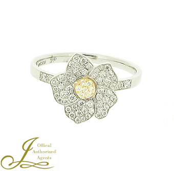 Hulchi Belluni Diamond 'Monoi' Ring