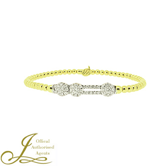 Hulchi Belluni Diamond 'Tresore' Bangle