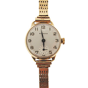 9ct yellow gold Rodania watch