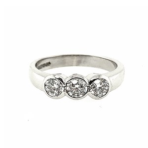 Second Hand 18ct White Gold 0.60ct Diamond Ring
