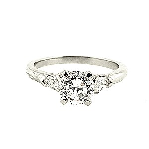 Second Hand Platinum 1.02ct Diamond Ring