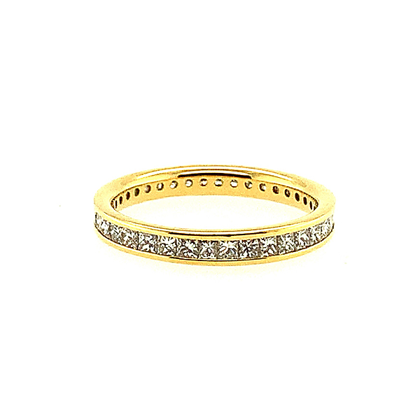 Second Hand 18ct Yellow Gold 0.50ct Full Eternity Ring