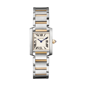 2nd Hand Cartier Tank Francaise 18ct Yellow Gold & Stainless Steel