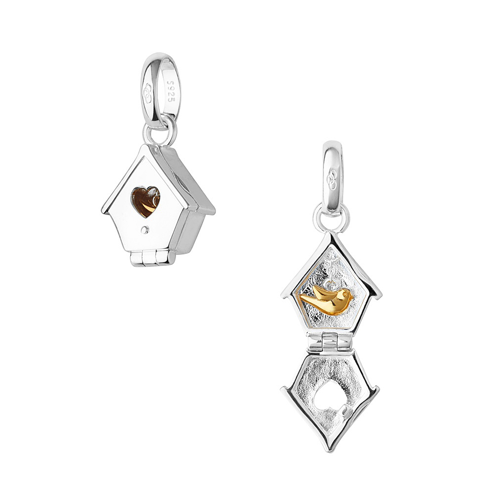 Links of London Bird House Charm