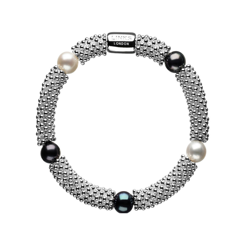 Links of Lonfon Sterling Silver Effervescence Star bracelet
