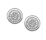 Links of London Diamond Pave Earrings