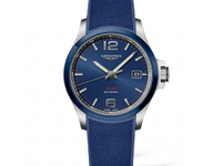 Longines Conquest VHP Blue Quartz Watch