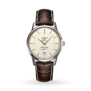 Longines 38.5mm Flagship Heritage Automatic Watch