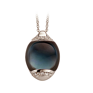 Gianfranco Bigli Blue Topaz 'Moon' Pendant