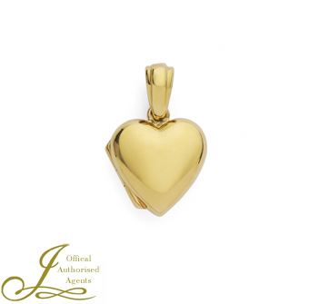 18ct yellow Gold Heart Locket