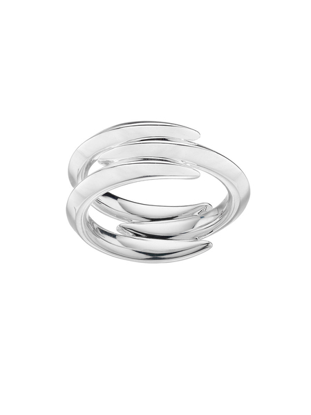 Shaun Leane Silver Arc Triple Ring