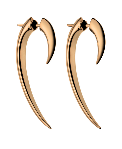 Shaun Leane Rose Gold Vermeil Hook Earrings