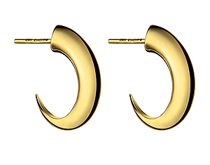 Shaun Leane Yellow Gold Vermeil Cat Claw Earring