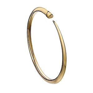 Shaun Leane Yellow Gold Vermeil Slim Tusk Bangle