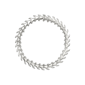 Shaun Leane Silver Serpents Trace Articulated Bracelet