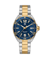 Tag Heuer Formula 1 gents 41mm stainless steel and yellow gold plated watch