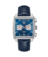 Tag Heuer Monaco 39mm stainless steel watch
